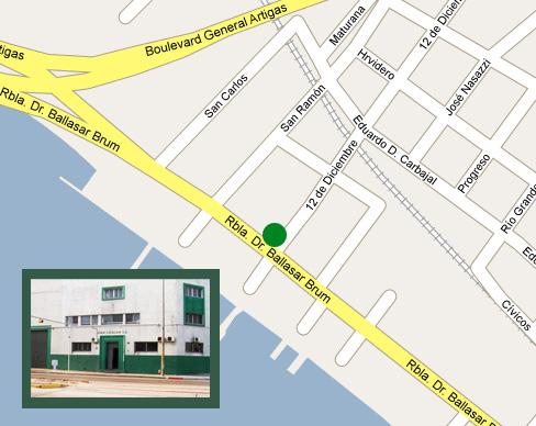 Ubicación de Cavajani SA en el Mapa - Casa Central